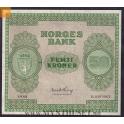SOLGT: Sjelden mulighet! 50 kroner 1948 B kvalitet 0 !