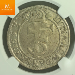 2 mark 1653 kvalitet god 1, NGC XF45