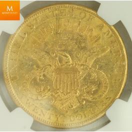 USA: 20 Dollar 1898 S kvalitet: AU58