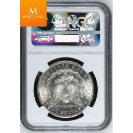 USA: Morgan Dollar 1884 CC MS66 ! Vanvittig mynt