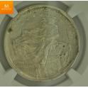 USA: Half Dollar 1925 Stone Mountain MS64