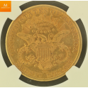 Meget sjeden! 20 Dollar 1879 Carson City AU53