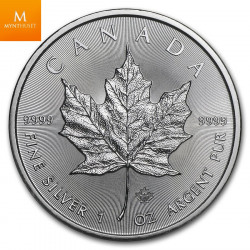 CANADA SILVER MAPLE LEAF 2020 500 X 1 OZ MONSTER BOX BU
