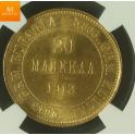 20 Markkaa 1912 L UTRA SJELDEN
