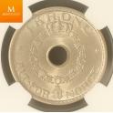 1 krone 1940 kvalitet MS64