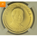 RWANDA 5000 Francs 1990 Nelson Mandela