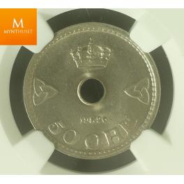 50 øre 1926 kvalitet 0 , MS65