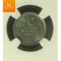 10 øre 1943 Z kvalitet MS64 VAKKER