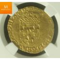 FRANCE 1515-1547 FRANCOIS I ECU Kvalitet AU50
