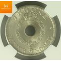 1 krone 1947 strøken MS64