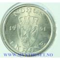 1 krone 1951 kvalitet 0
